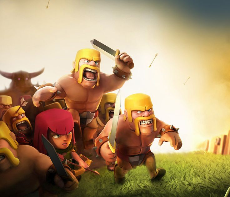 """A fun game! Protect your clan and attack others for resources."" - @leonlin"
