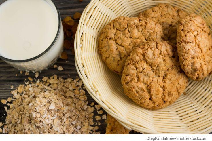 Schnelle Haferflocken Cookies Bystrie owsjanije petschenje - Быстрое овсяное печенье - Russische Rezepte