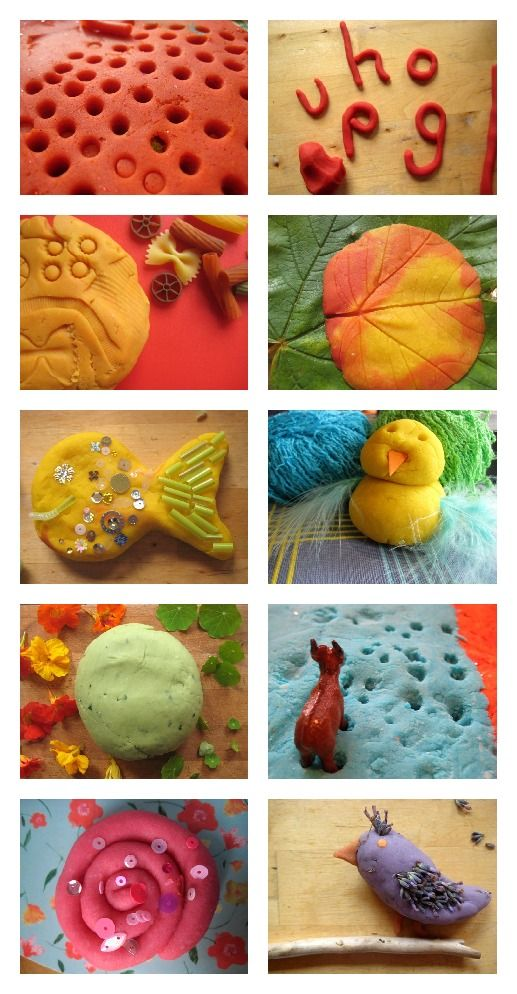 Love play dough? 52 recipes and play ideas for a whole year of activities. Everything from sensory and imaginative play, creating small worlds, art projects, and math and literacy activities.