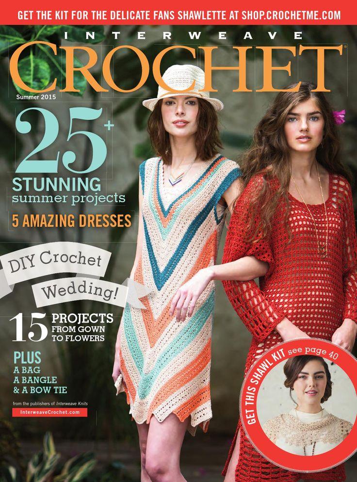 ISSUU - Interweave crochet summer 2015 by Daliute