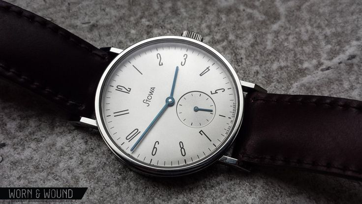 Stowa Antea Kleine Sekunde - another 'bauhaus'-inspired small-seconds watch from Germany with an ETA mechanical movement. $700ish shipped