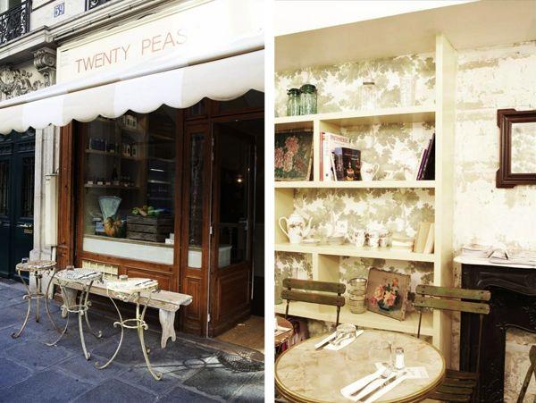 Twenty Peas, la table parisienne so british !
