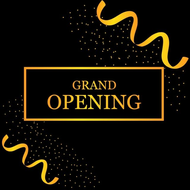 grand opening soon opening grand