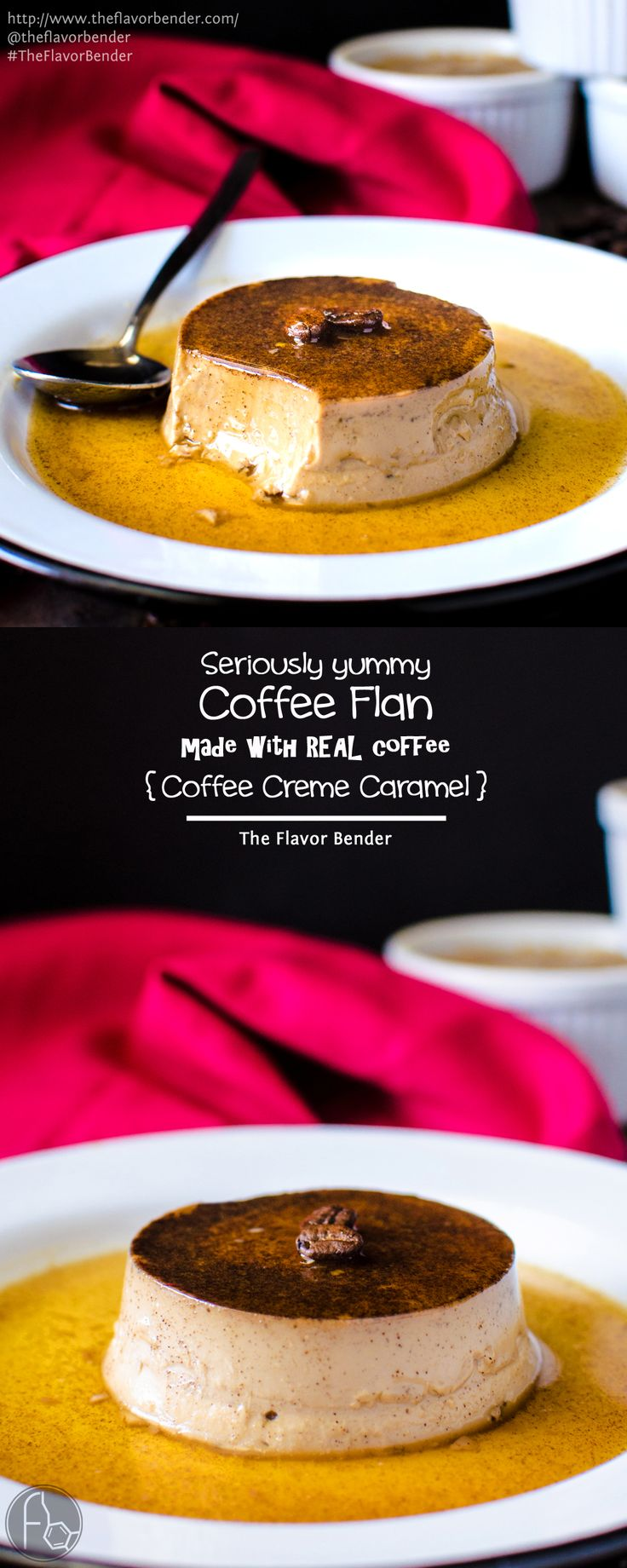 Classic Creme Caramel with a wonderful coffee twist! This Coffee creme ...