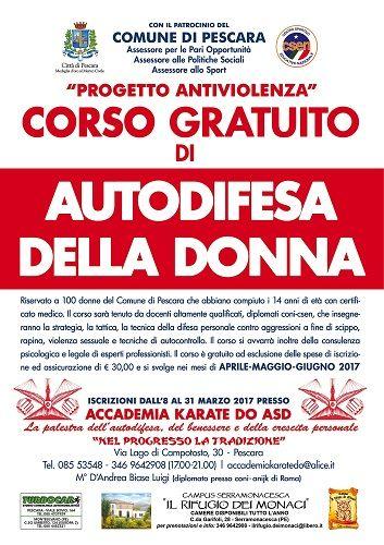Pescara difesa personale per donne: da aprile tornano i corsi gratuiti