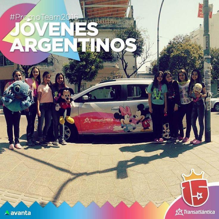 Disfrutando de la recibida de la #primavera y el día del estudiante con #JovenesArgentinos #cordoba en Parque de las Tejas!#enjoy15 #transatlantica #avanta #diadelaprimavera #diadelestudiante