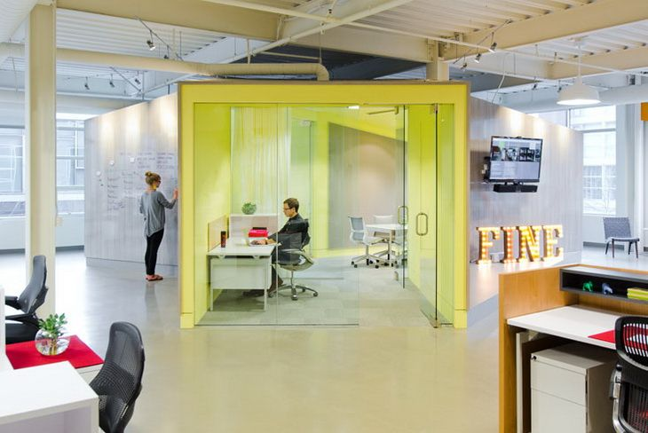 Creative Agency MyeOffice Workplace Design and