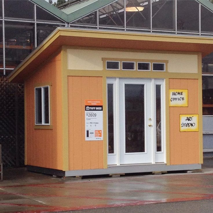The @homedepot is selling these #MCM style shed kits. Wouldnt this make the BEST #sheshed?  I want one!!