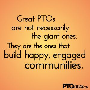 What makes a PTO special? Chances are, your group is much more special than you think!