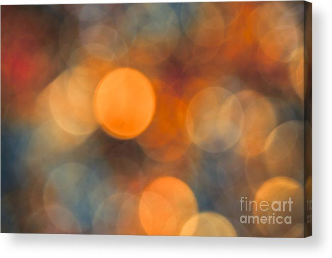 October Evening Acrylic Print by Jan Bickerton.  All acrylic prints are professionally printed, packaged, and shipped within 3 - 4 business days and delivered ready-to-hang on your wall. Choose from multiple sizes and mounting options. #interiordesign #art #AbstractArt