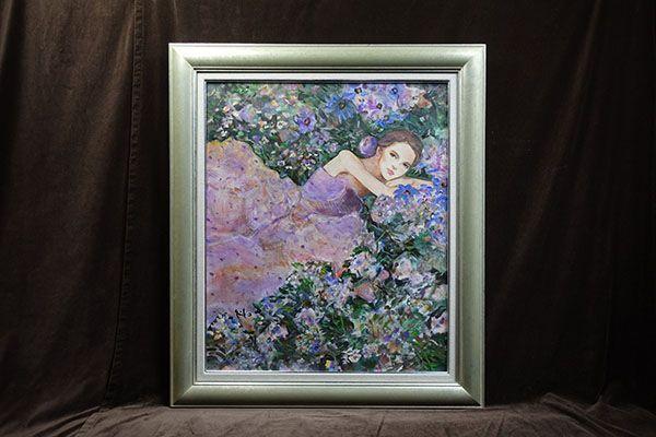中島裕子「秘密の花園」20号額装・箱・美品・真作保証 http://page14.auctions.yahoo.co.jp/jp/auction/s511892944 ※ヤフオクで今週出品している作品をご紹介しています。 #art #芸術 #画廊 #油絵 #女子美 #中島裕子