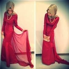 Fashion Hijab 2014 hijab styles evening dresses