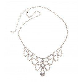 Delicate vintage look diamante detail collar necklace. A perfectly elegant accessory for any special occasion!