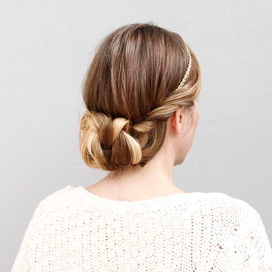 This headband style might look fancy, but it's easier than you think to DIY!