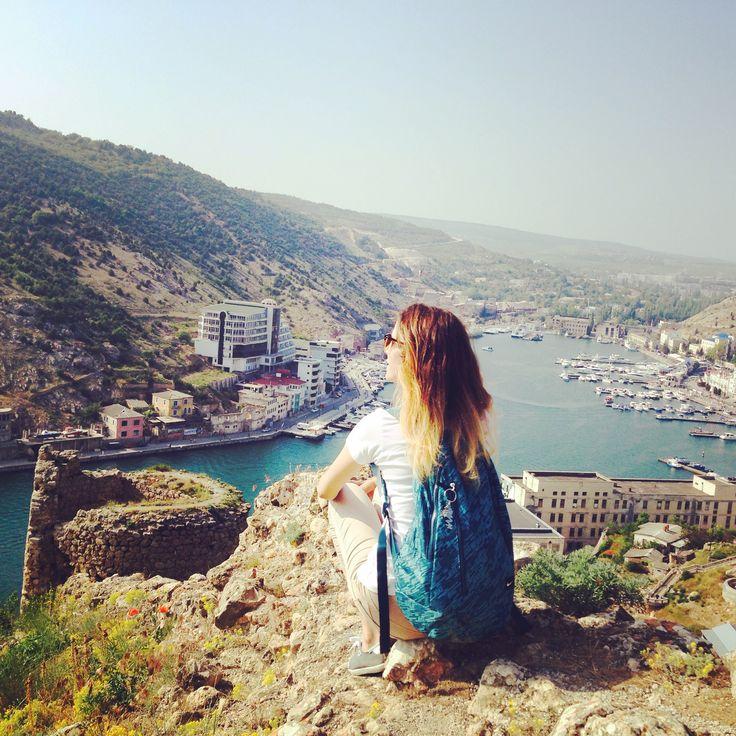 #balaklava #sevastopol #crimea #sunshine #girl #russiangirl