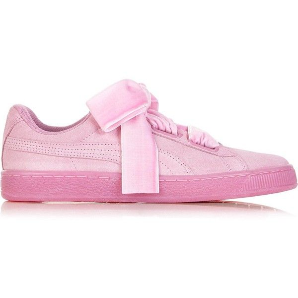 9adcd57ff1 ... Sneakers A PUMA Classic Puma Suede Heart Reset Women'S Trainers ($84) ❤  liked on Polyvore featuring shoes, ...