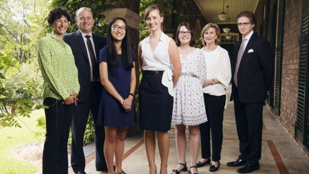 """Congratulations to our 2015 """"Old Girl"""", Angie Lu. Article by Lisa Davies, SMH,  Katrina Dawson Foundation scholarship recipients announced, Angie Lu was one of the three inaugural recipients of the Katrina Dawson Foundation scholarships at Sydney University's Women's College."""
