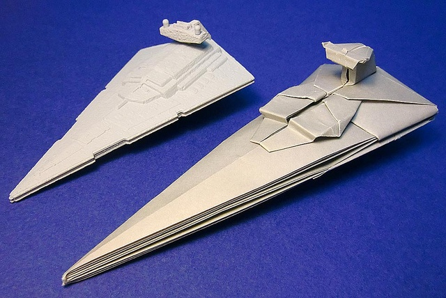 origami spaceships by shu sugamata origami ideas