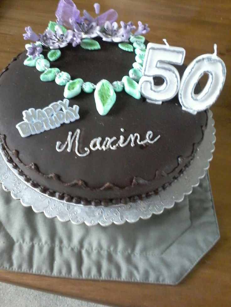A necklace for her 50th