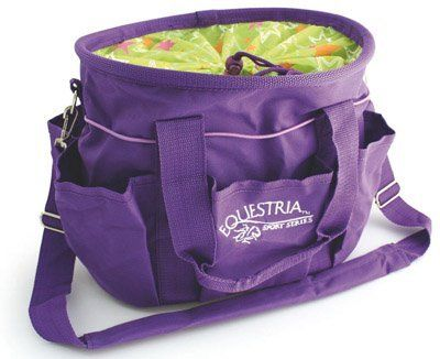 "Luckystar Deluxe Nylon Tote, 12"" Purple by DESERT EQUESTRIAN. $13.24. CHINA. Quality, value and now more style with trendy new colors and patterns.. Save 22%!"
