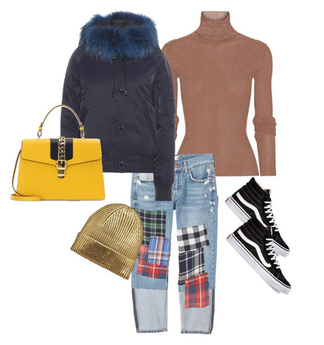 """""""Keeping warm!"""" by luluuheree on Polyvore featuring TIBI, MANGO, Kenzo, Vans and Gucci"""