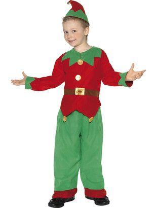 Unisex Kids elf costume