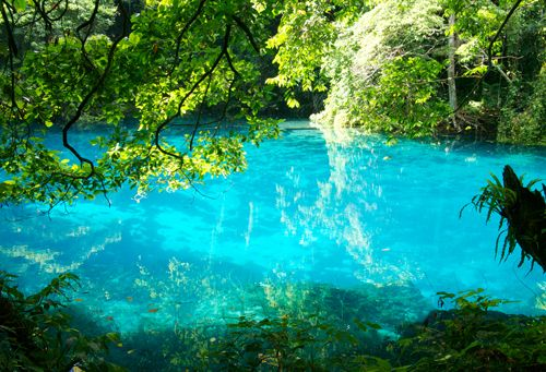 Fresh Water Blue Hole, Vanuatu