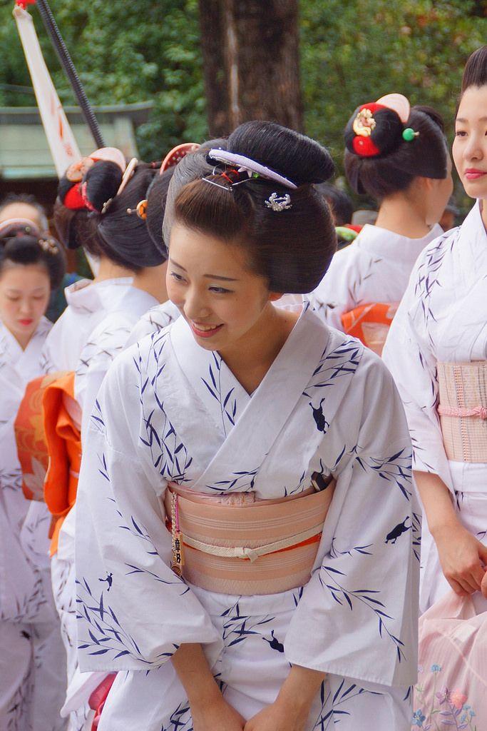 京都の花, 舞妓(みやび会)2014年夏撮影 - Kyoto Maiko, 2014 summer shooting, Japan.