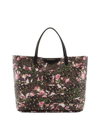Antigona+Large+Floral-Print+Shopper+Bag+by+Givenchy+at+Bergdorf+Goodman.