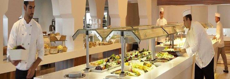 The Dinning Restaurant at the Marbella Corfu Hotel in Agios Ioannis Peristeron Corfu Greece
