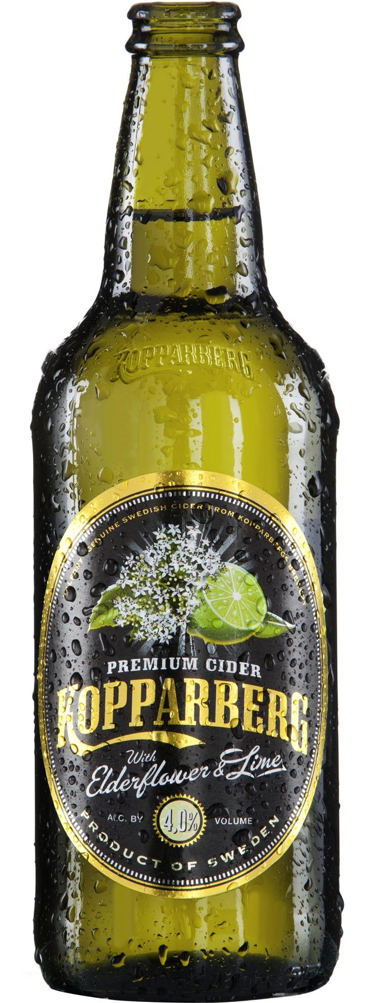 Kopparberg Elderflower & Lime Cider 500mL