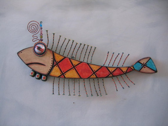 Twisted Toona, Original Found Object Sculpture, Wood Carving, Wall Art, by Fig Jam Studio