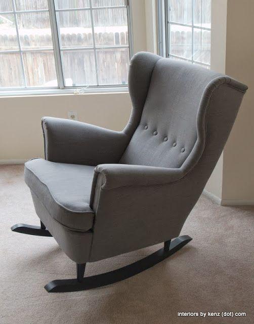 IKEA Hackers Strandmon Rocker Ikea Chair Take Off The