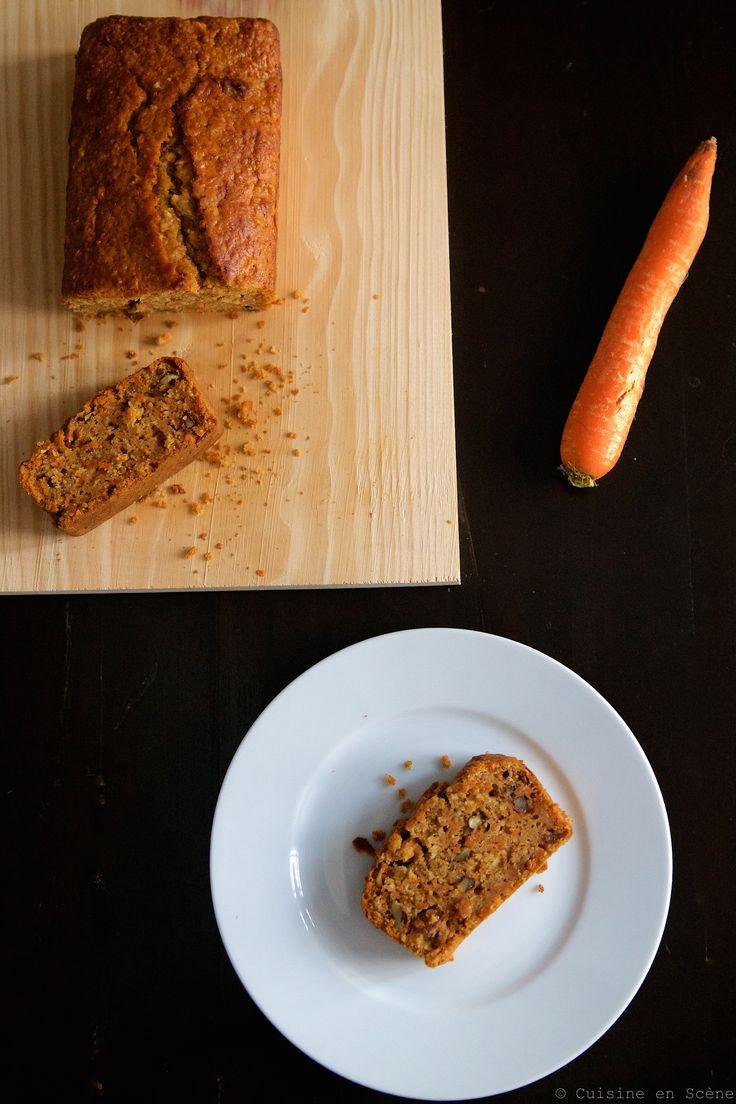"""Gâteau aux carottes """"healthy"""""""