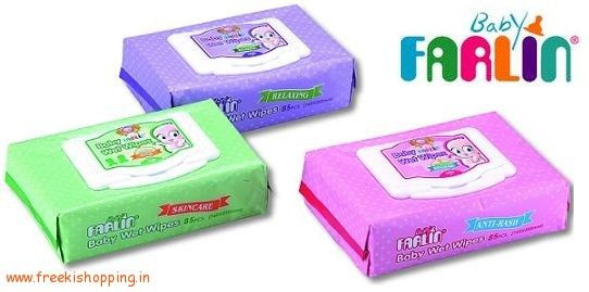 nice [Lowest Online] Farlin Wet Wipes (95 Pcs) at Rs.195