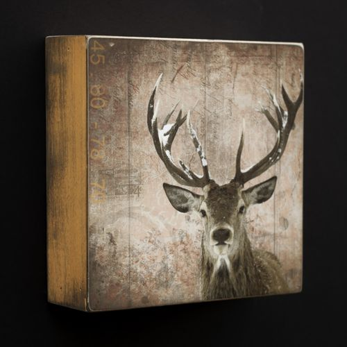 Art Block - Deer by Morgan Jones
