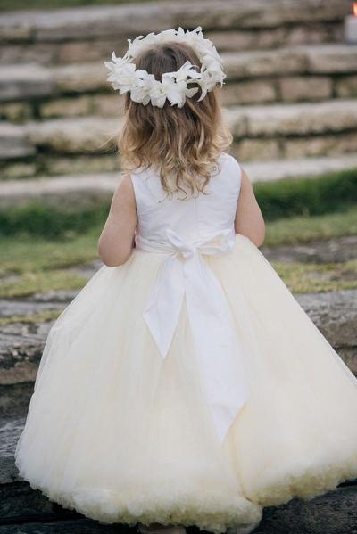 Flower Girl Inspiration. | Beautiful flower girl dress