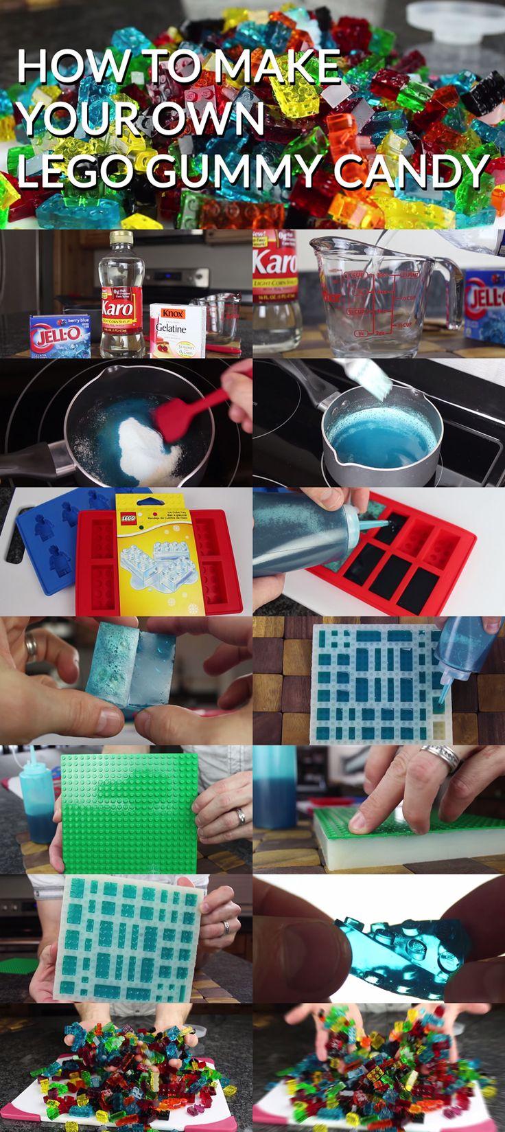 Lego Gummies!! Easy to make!!