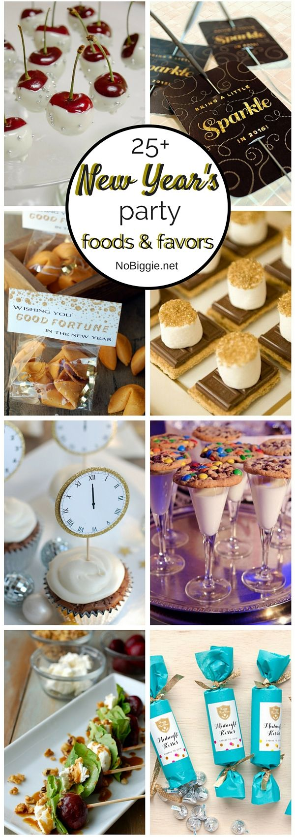25  New Year's Eve party foods and favors: Just in case I ever host a party. Like, ever.