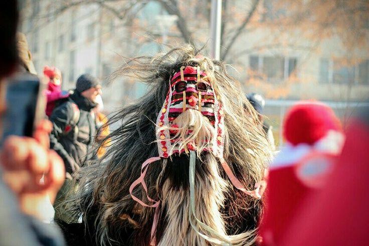 International festival of Masquerade Games SURVA 2017. Pernik Bulgaria.Lana  #surva #festival #kukeri #surva2017 #perniik #mask #carnival #bulgaria #кукери #сурва2017 #маски #карнавал