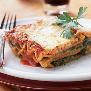 Healthy Lasagna Recipes | Creamy Spinach Lasagna | CookingLight.com