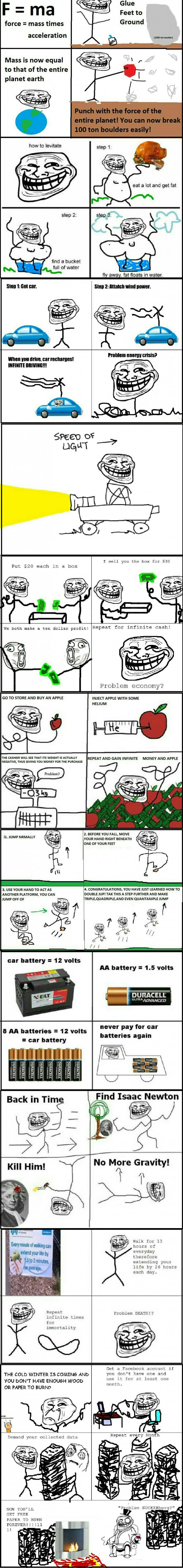 Troll physics part 2