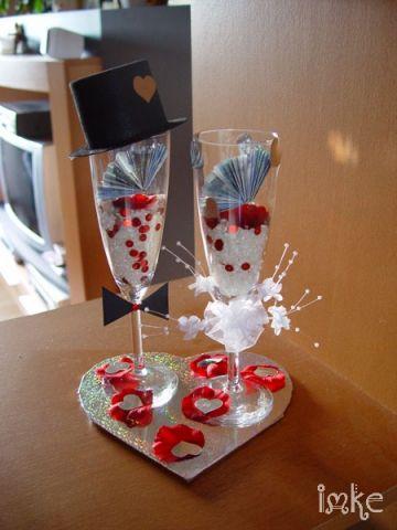 Geldgeschenk zur Hochzeit | Bastelfrau