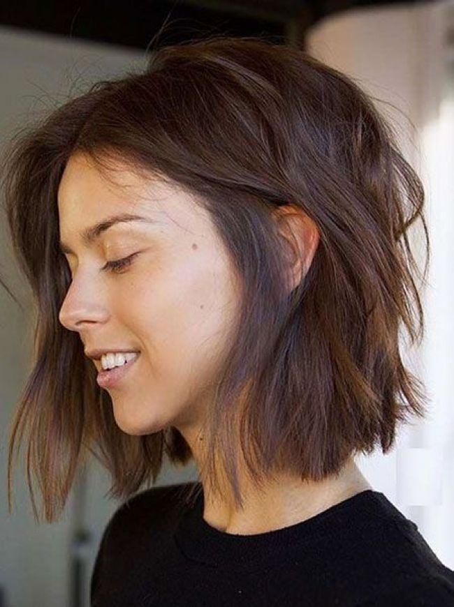 18 Bob Frisuren Für Feines Haar Frisur Pinterest Hair Styles