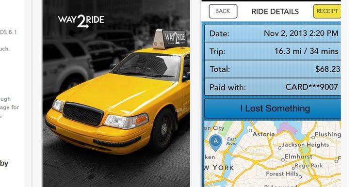 Top 7 New York City Taxi iPad iPhone Apps 2014
