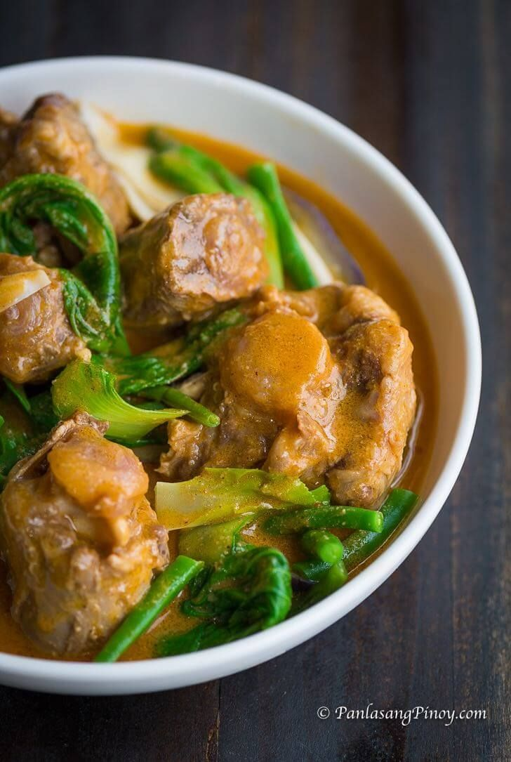 Kare Kare Recipe Recipe Kare Kare Recipe Recipes Oxtail Recipes