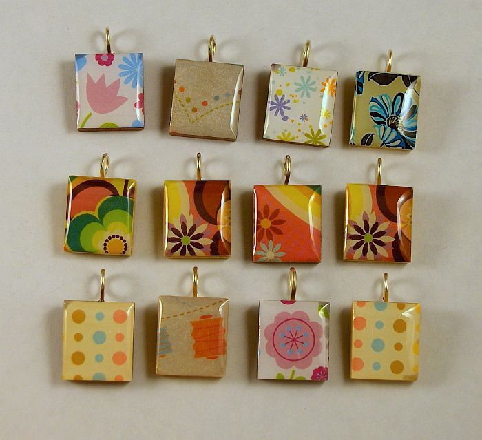 more scrabble tile jewelry.  I will be trying this out.  Already purchased what I need.
