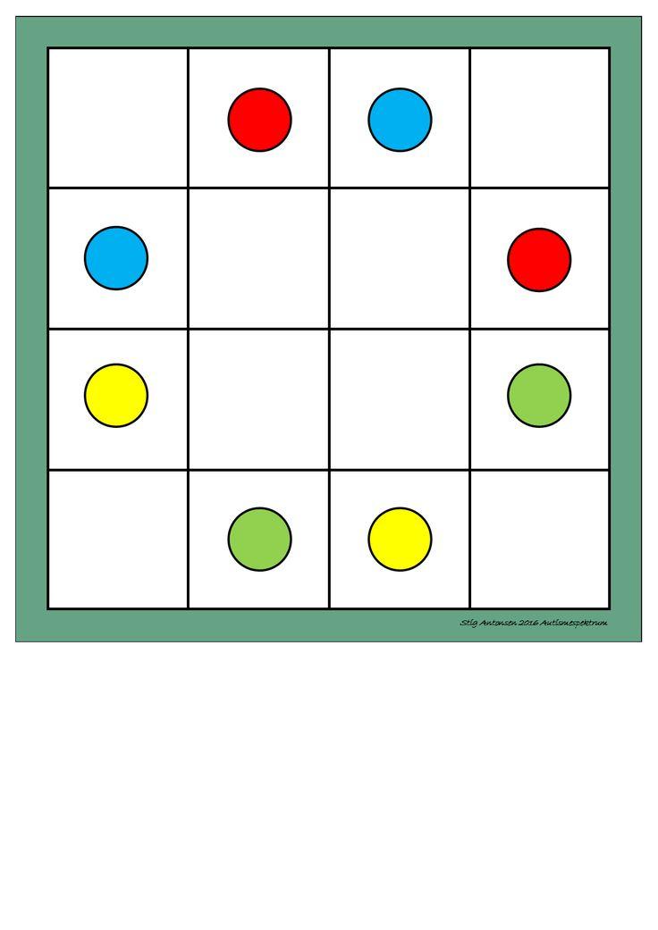 Board for the super matrix. Find the belonging tiles on Autismespektrum on…