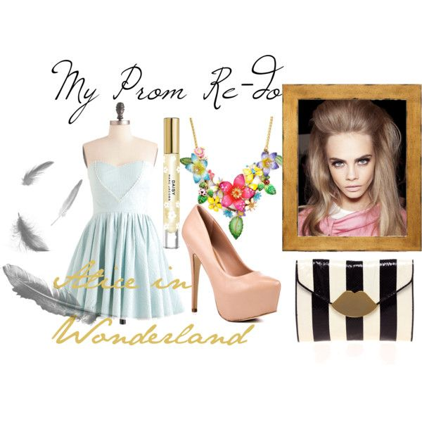 my first set on Polyvore: Alice In Wonderland