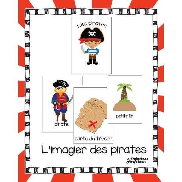 L'imagier des pirates